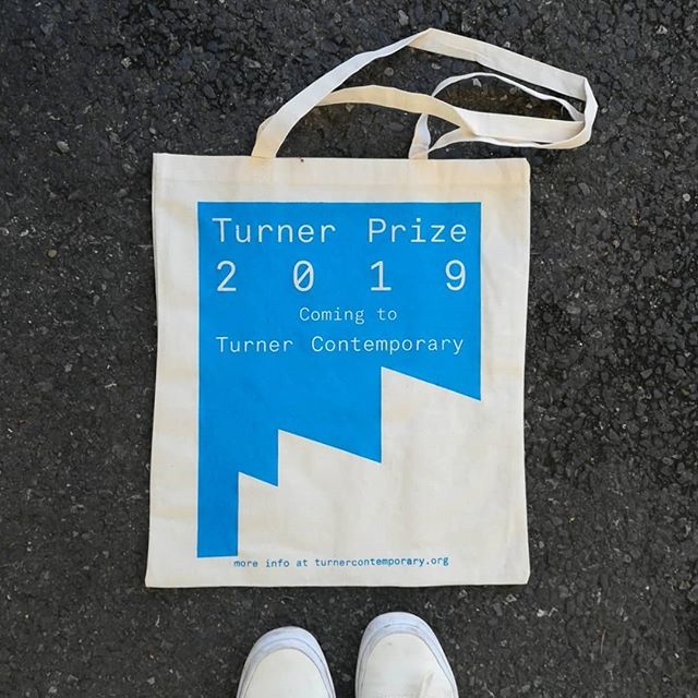 Heading back to London after 2 long days printing these beautiful tote bags with @turnercontemporary at University of Kent in Canterbury. Thanks to everyone that came down and had a go! #screenprint #printspotters #printmaking #workshop #printworkshop