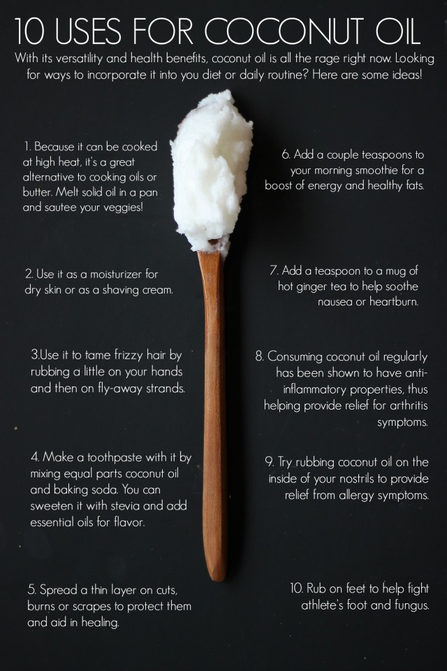 10UsesForCoconutOil