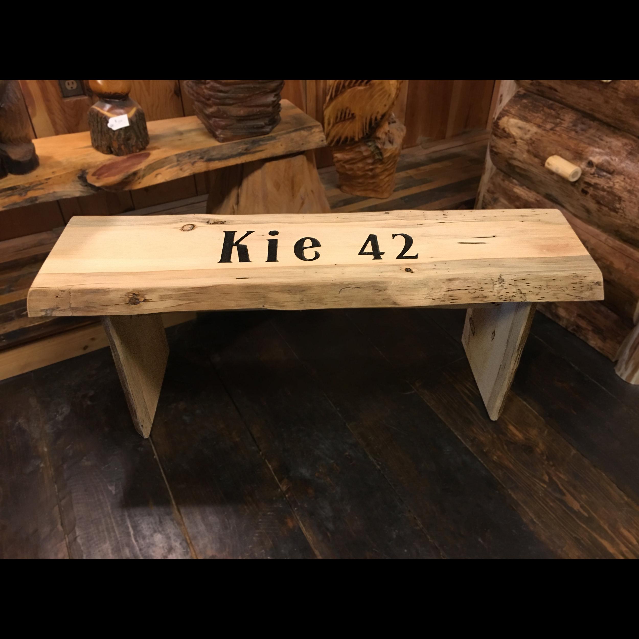 Inscribed Log Bench.jpg