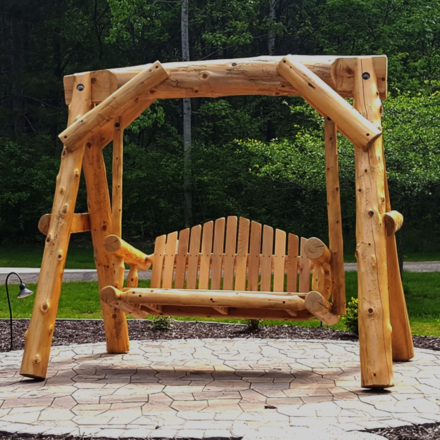 Soderlund\'s Wood Mill | Outdoor Log Furniture