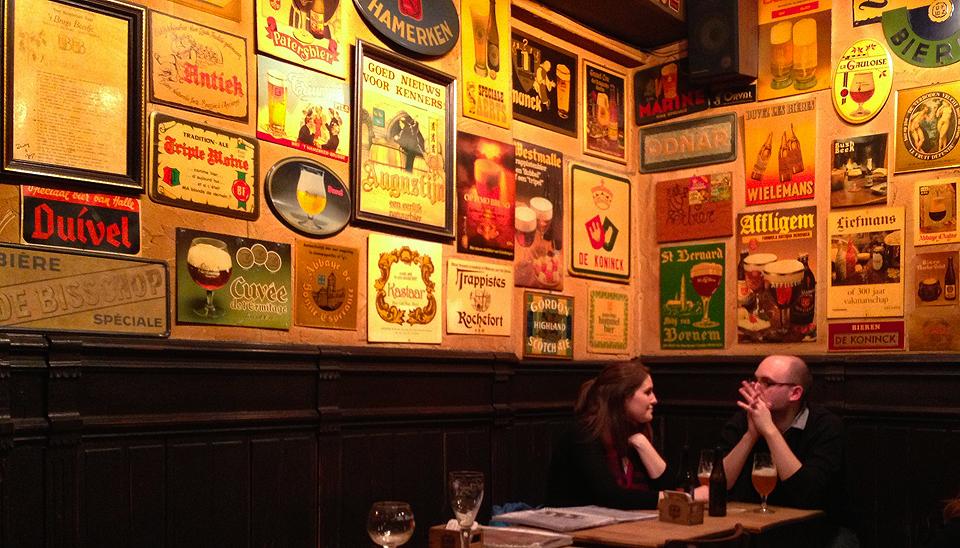 Brown Cafe in Bruges