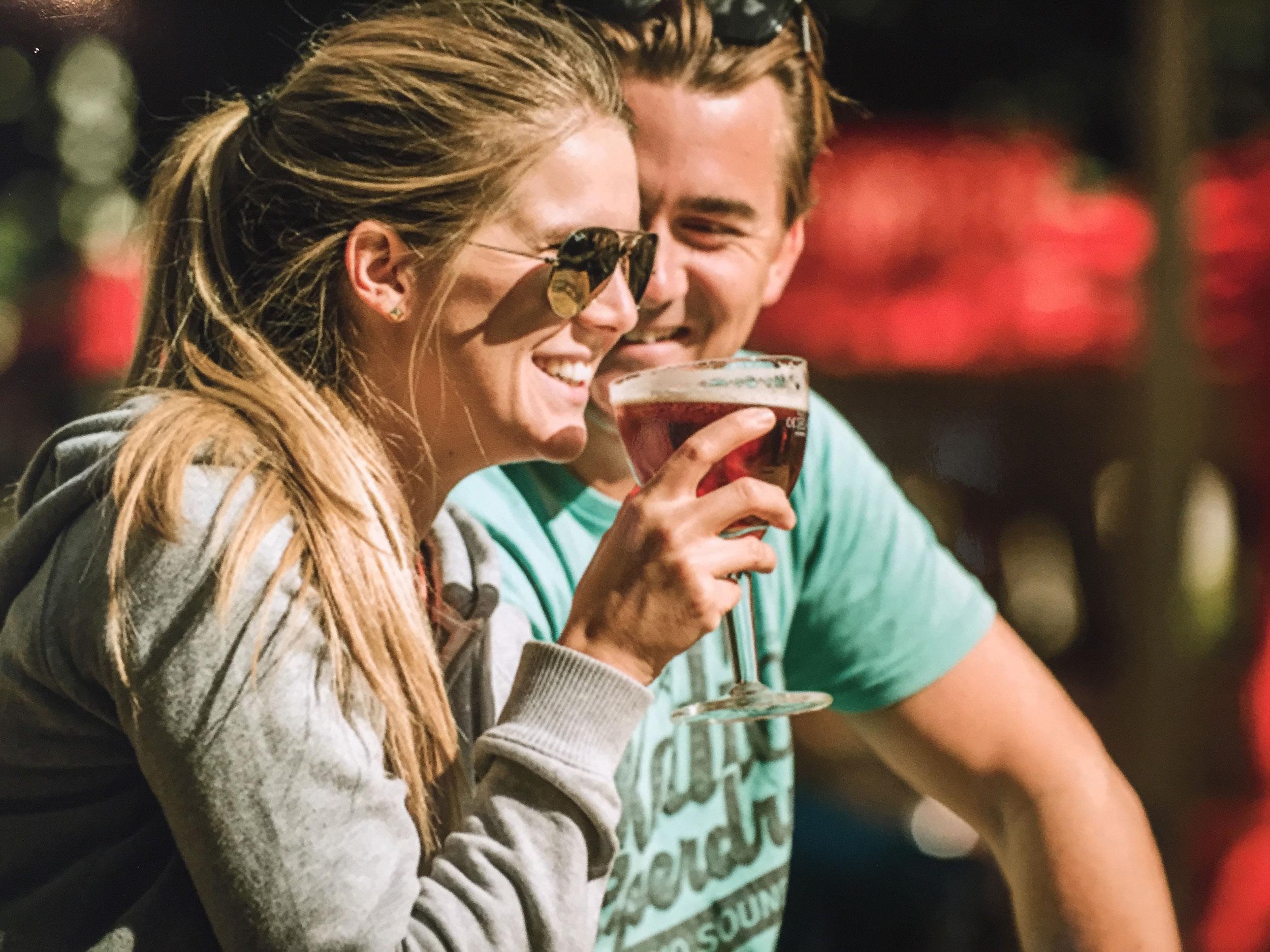 Couple in Belgium