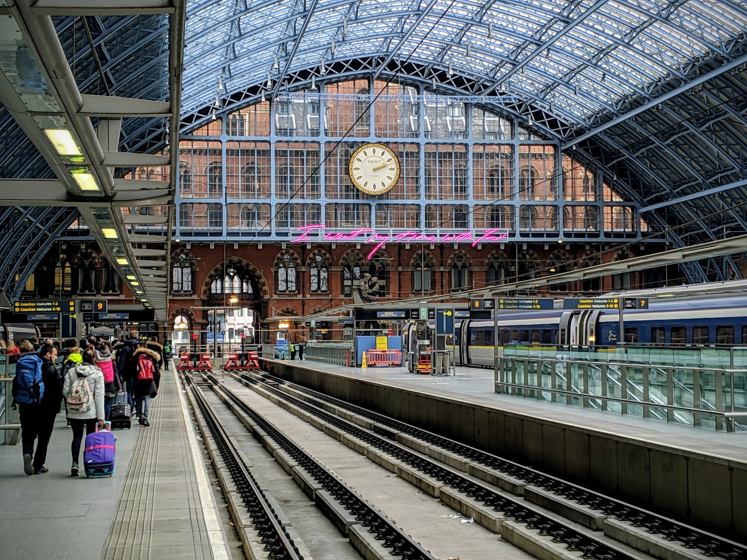 Train stations in London
