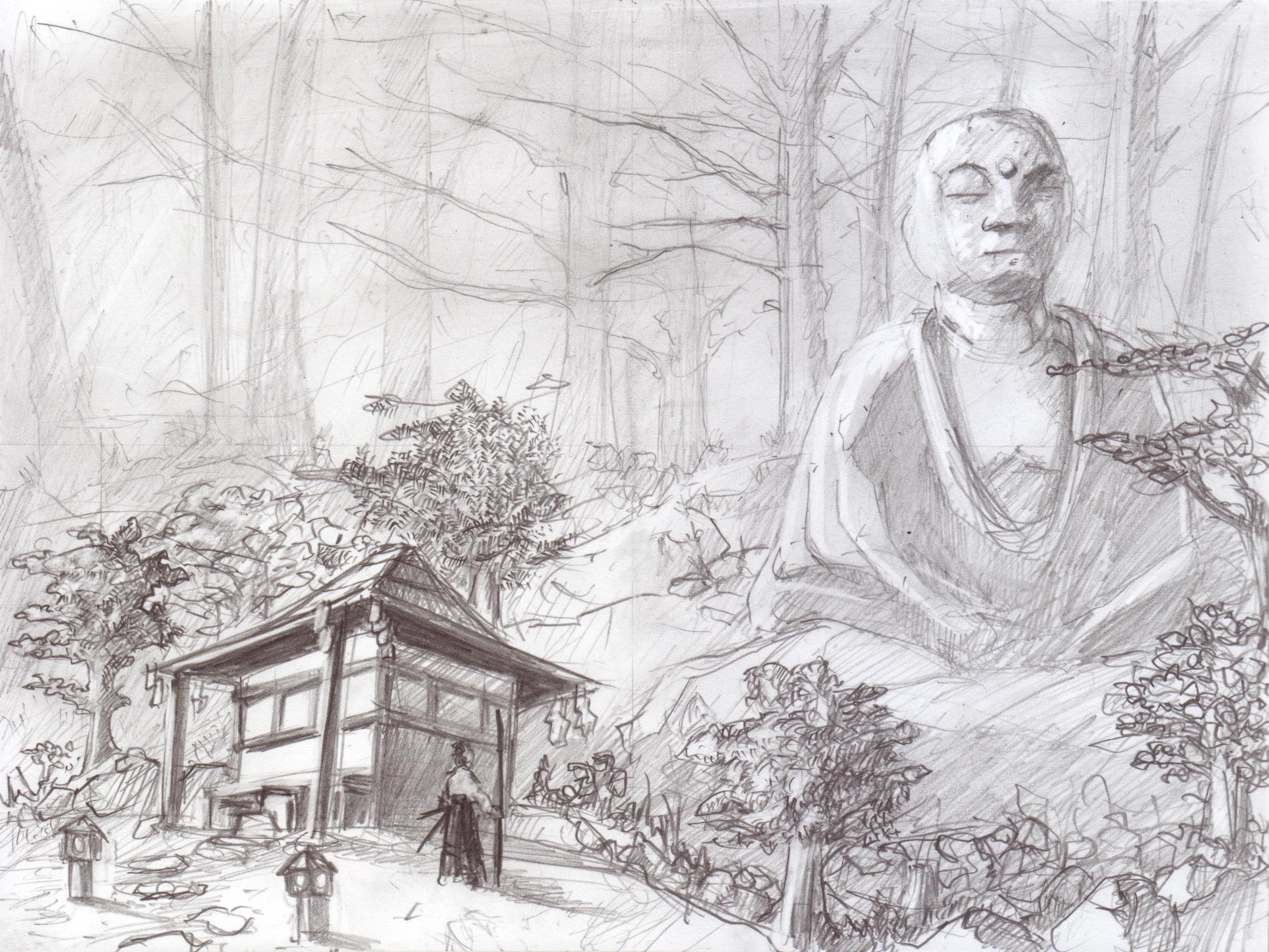 BuddahSamurai12x16.jpg