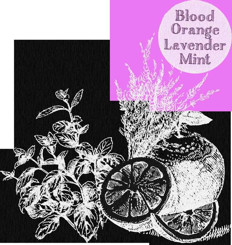 blood orange lavender mint tummydrops