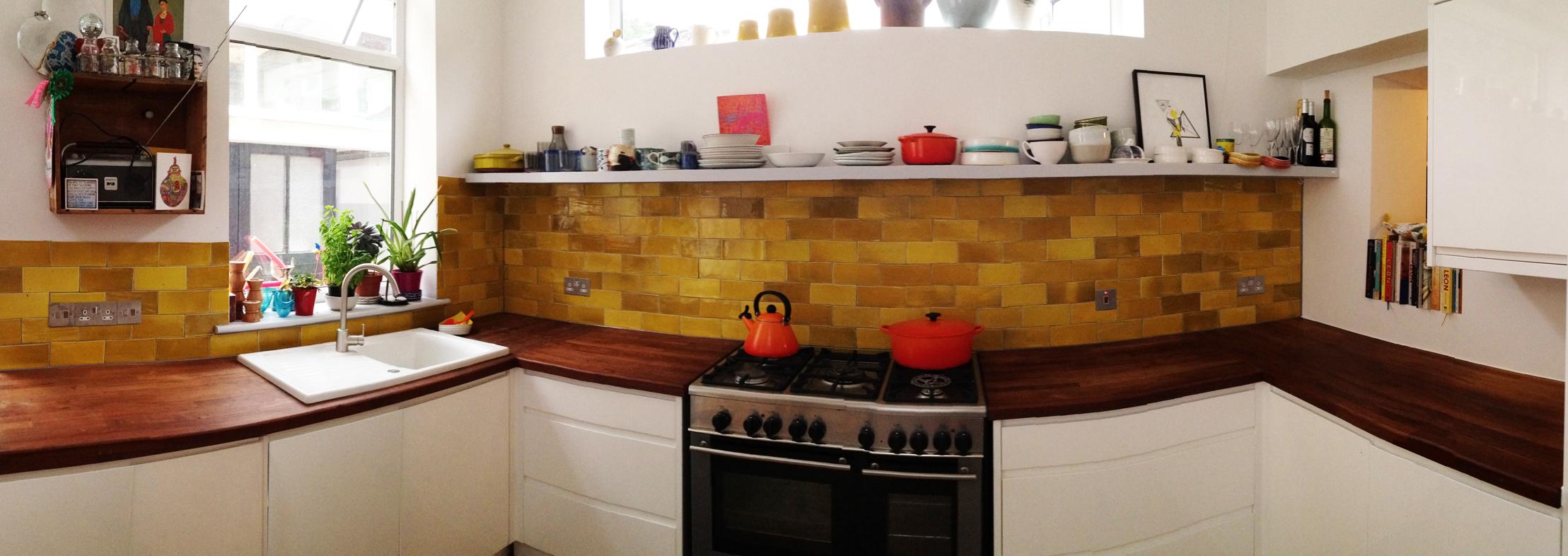 Bespoke kitchen tiles