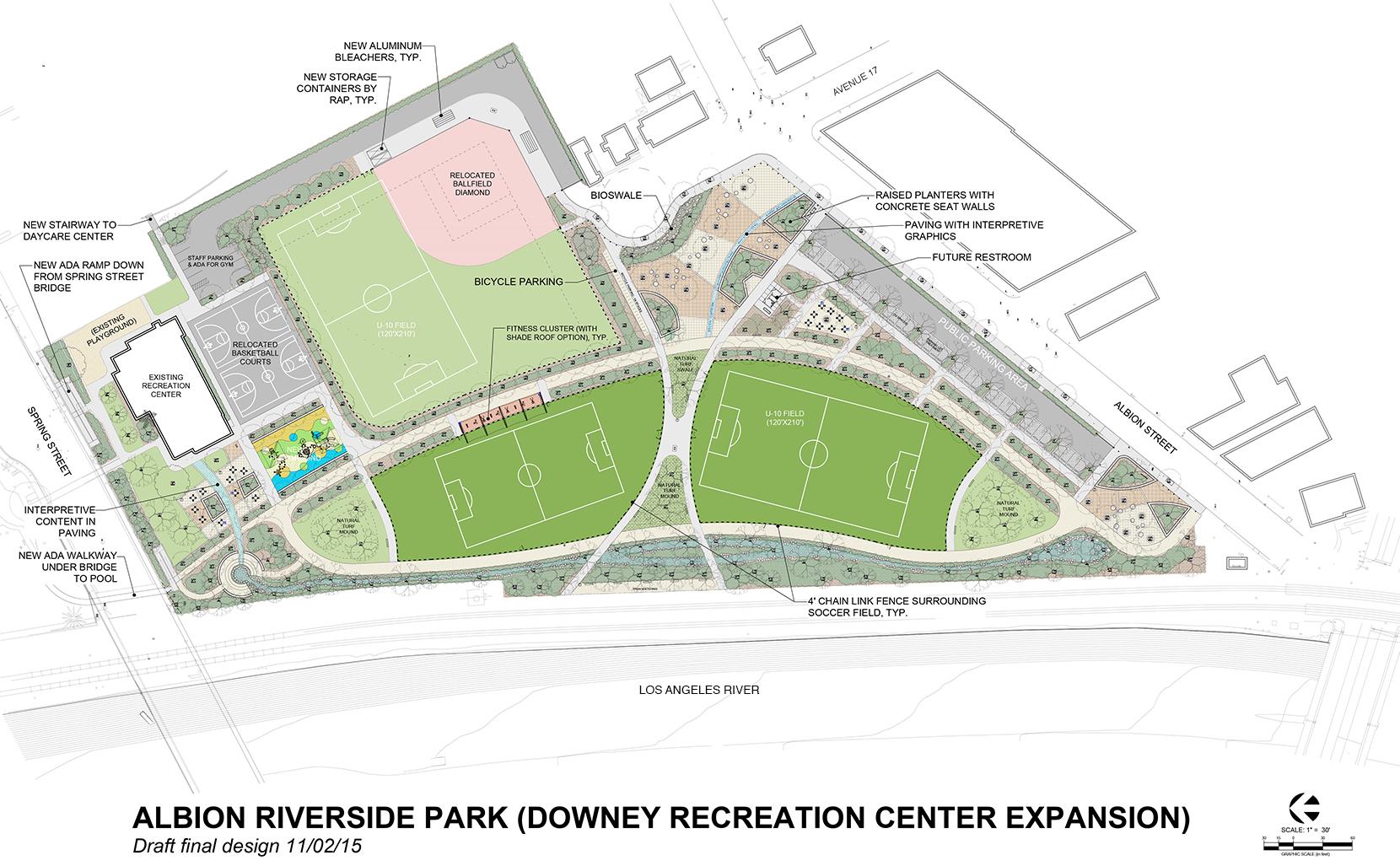 Albion Riverside Park - Draft Final Design
