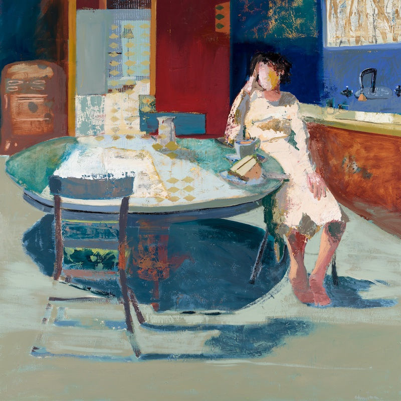 Woman At Table