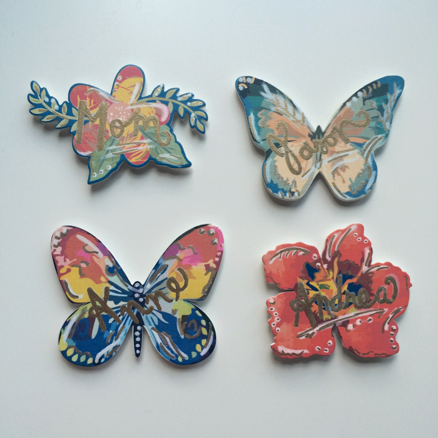 MAGNET PLACE CARDS. - AUG. 2015