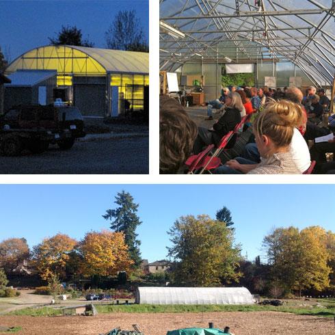 Greenhouse interior & exterior images
