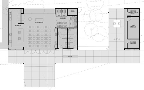 RBUFW Classroom Building Floor Plan