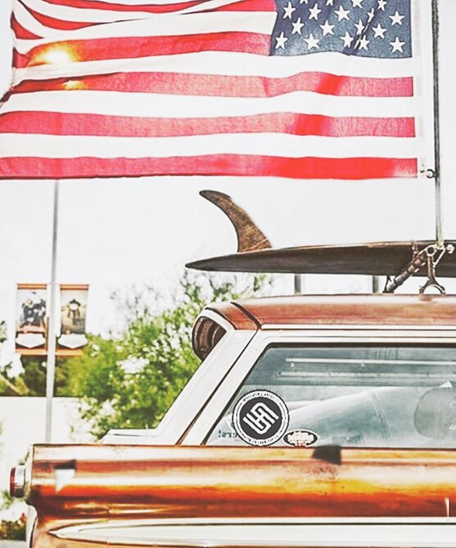 Cheers to freedom, independence and American made high octane petroleum guzzlers. #deathbeforenormalcy #stantonhandcrafted #PalmTreesAndPetrol 🇺🇸 American Made 🇺🇸
