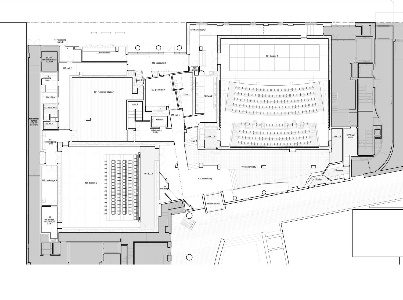 Floor Plans — MCC Theater