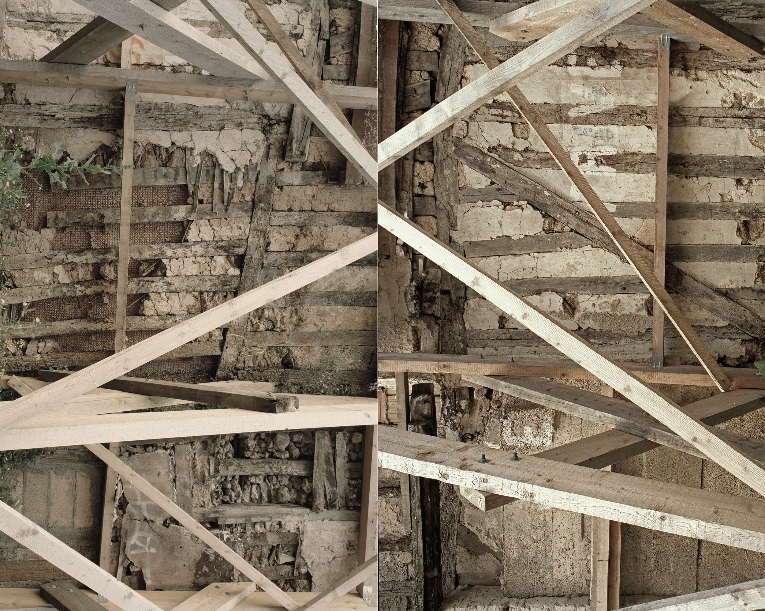 Collapse,  2015, pigment print on photo rag, 160 x 200cm