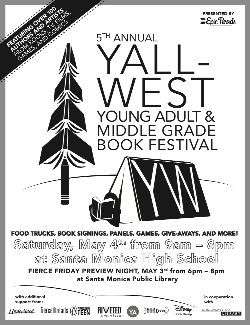YALLWEST Black and White Flyer and Line Up for print at home or office.   Click the Image above to download.