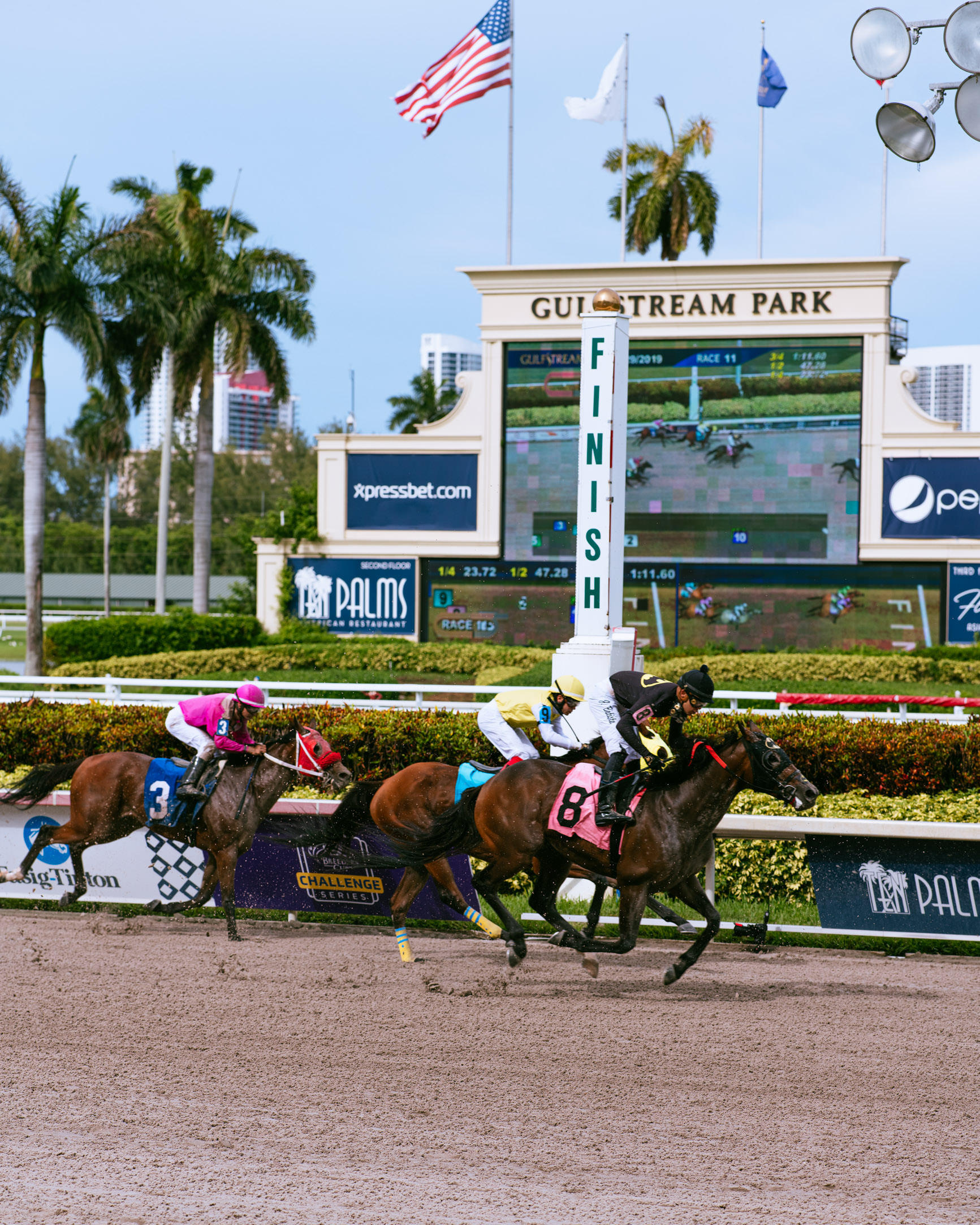 Gulfstream Park Racing and Casino events