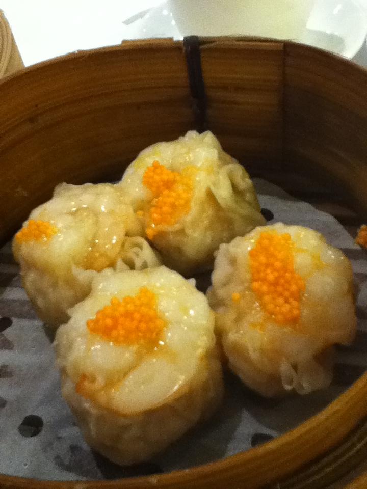 Shrimp and crab dumplings at Metropol