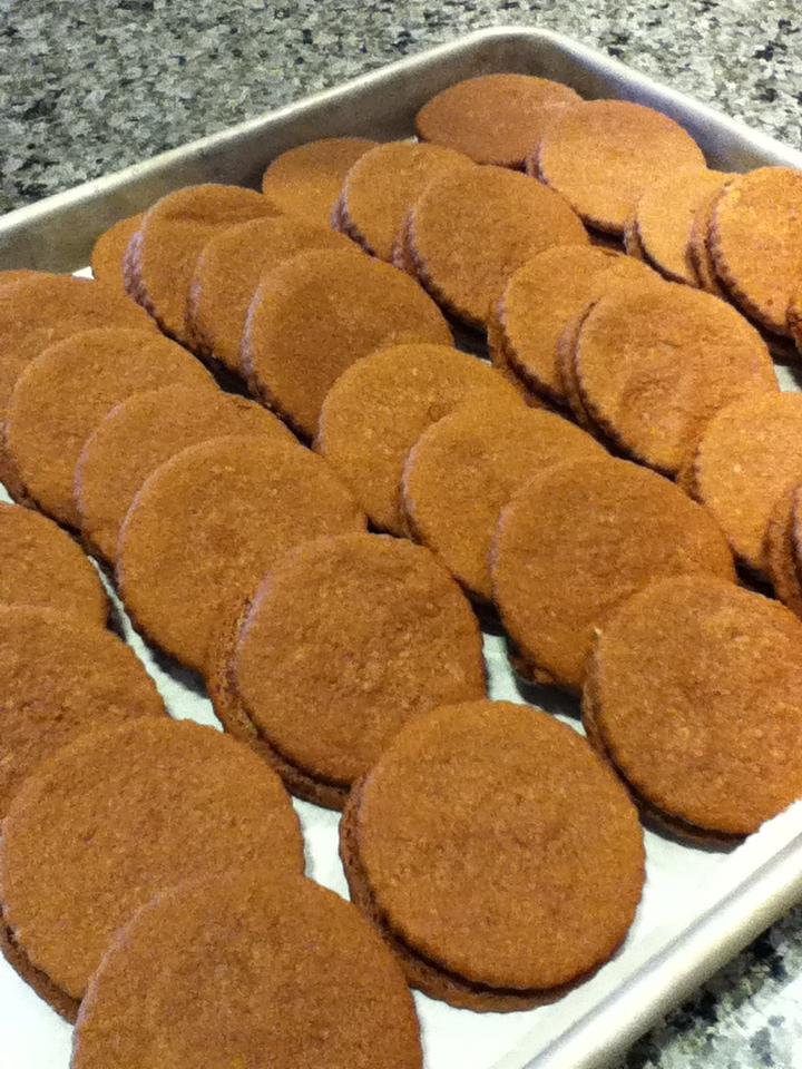 Swiss chocolate sandwich cookies