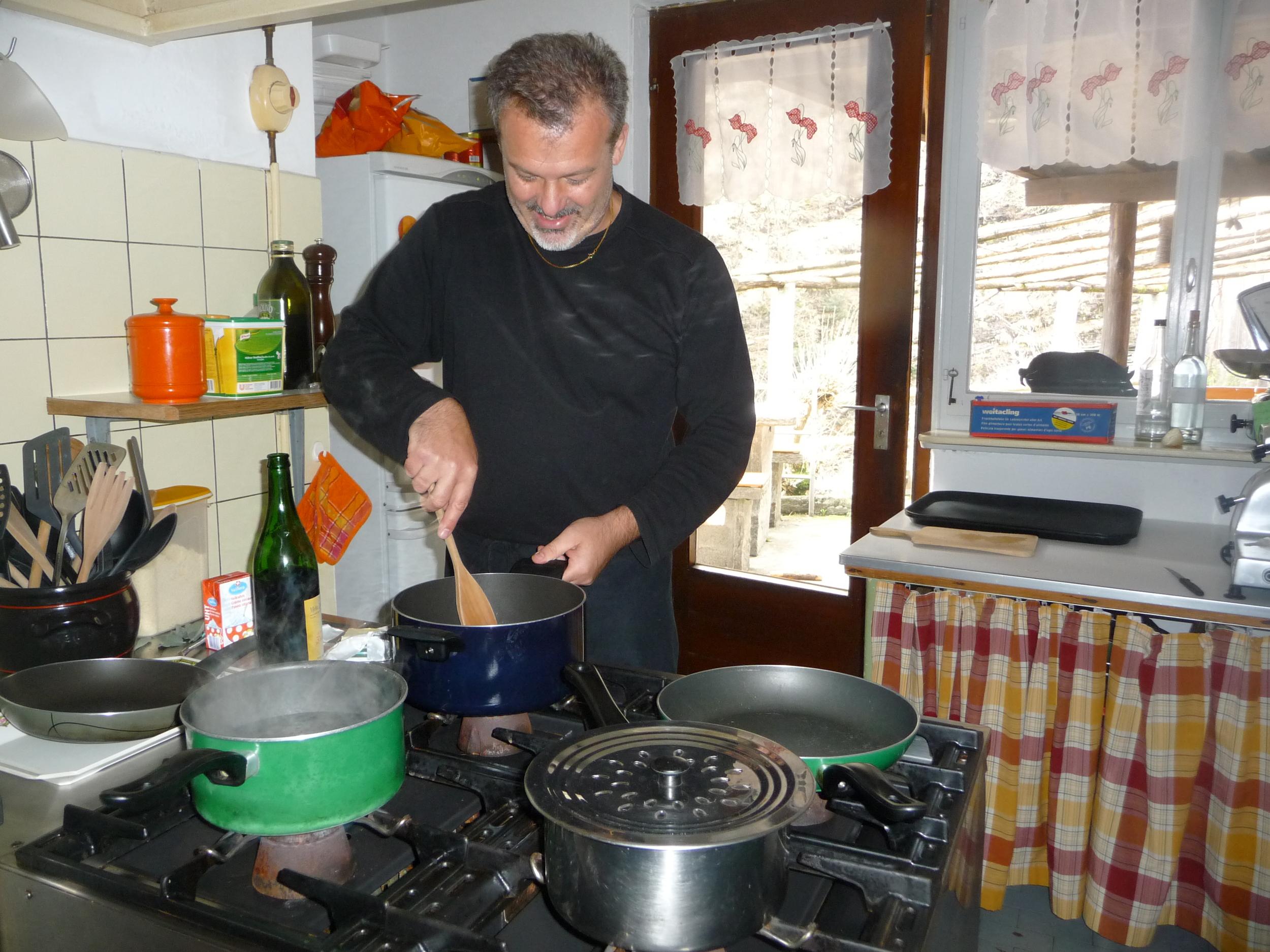 Mauro Ferrari at Ostaria Corippo