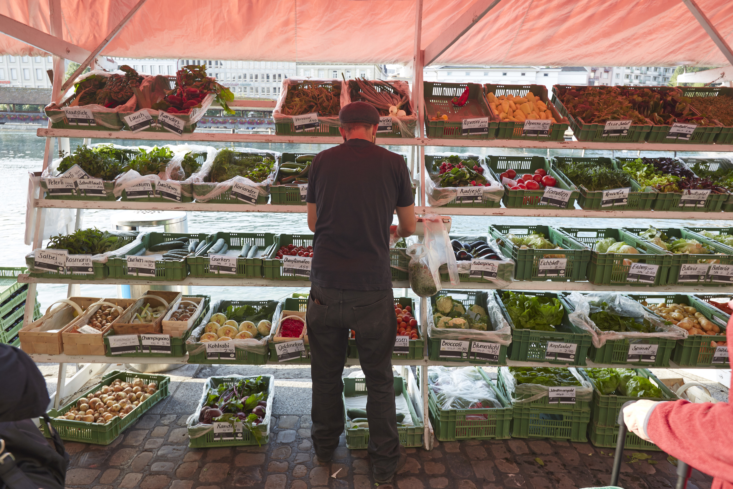 Lucerne market