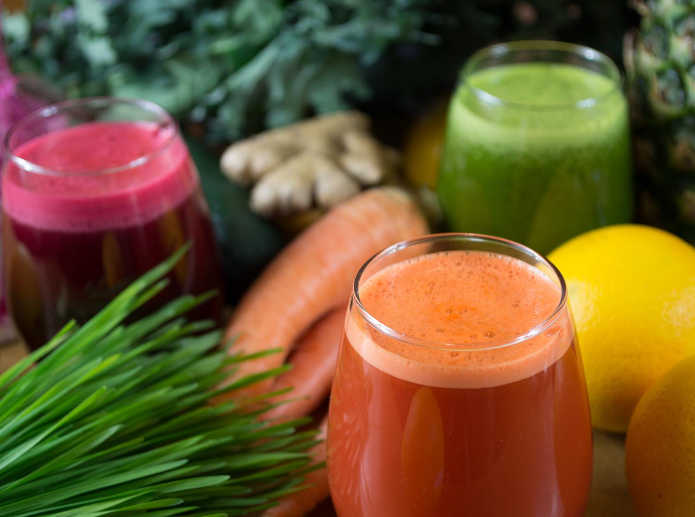 Fresh organic juices!