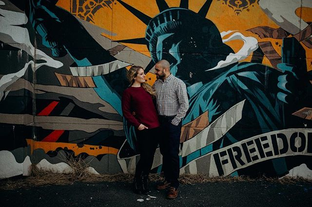 . . . . . . . #love #engagementphotos #engagementphotographer #nycweddingphotographer #portrait #astoriaparkengagement #nycengagementphotographer #astoriaengagementphotographer #graffiti #astoriapark #shesaidyes #photooftheday