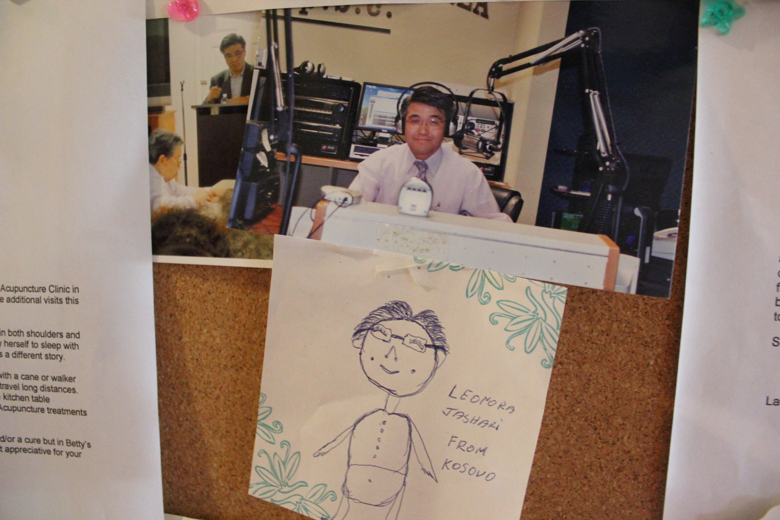On the Side - I used to be a regular guest at Radio Korea here in Atlanta. I focused on discussing the importance of maintaining mental and physical health.