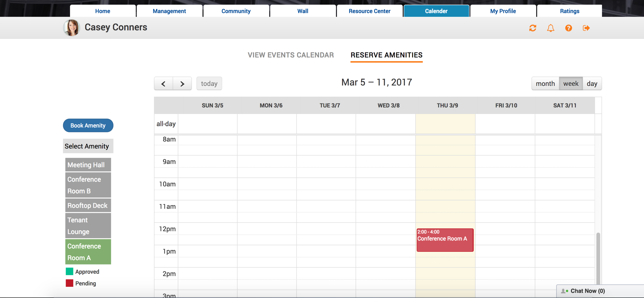 Management and tenant portal -  Book amenitiesManage building events calendarLink with the apps you already useManage multiple locations from a single login