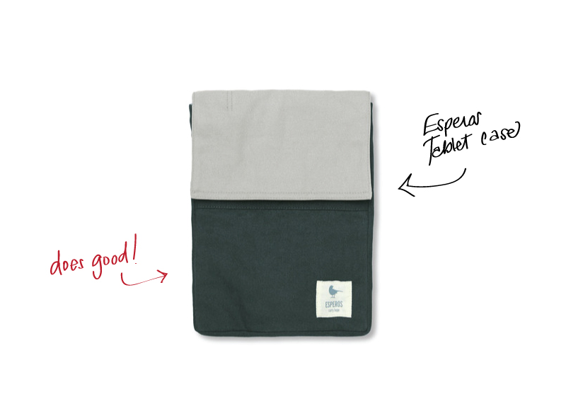 $27.99  helps children in the developing world get an education durable 14 oz. cotton canvas fits most tablets (including iPads with SmartCover)