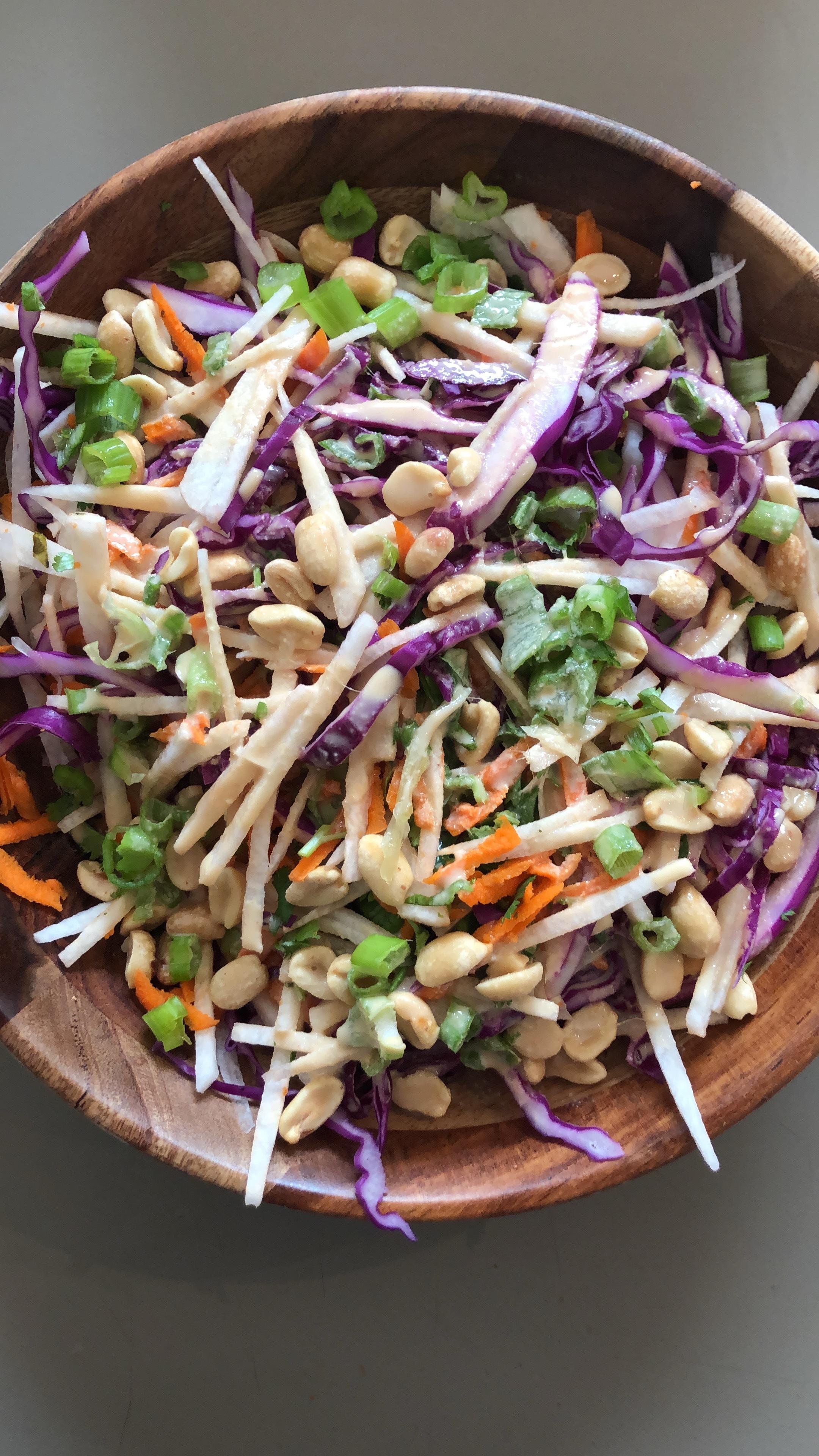 asian cabbage salad .JPG