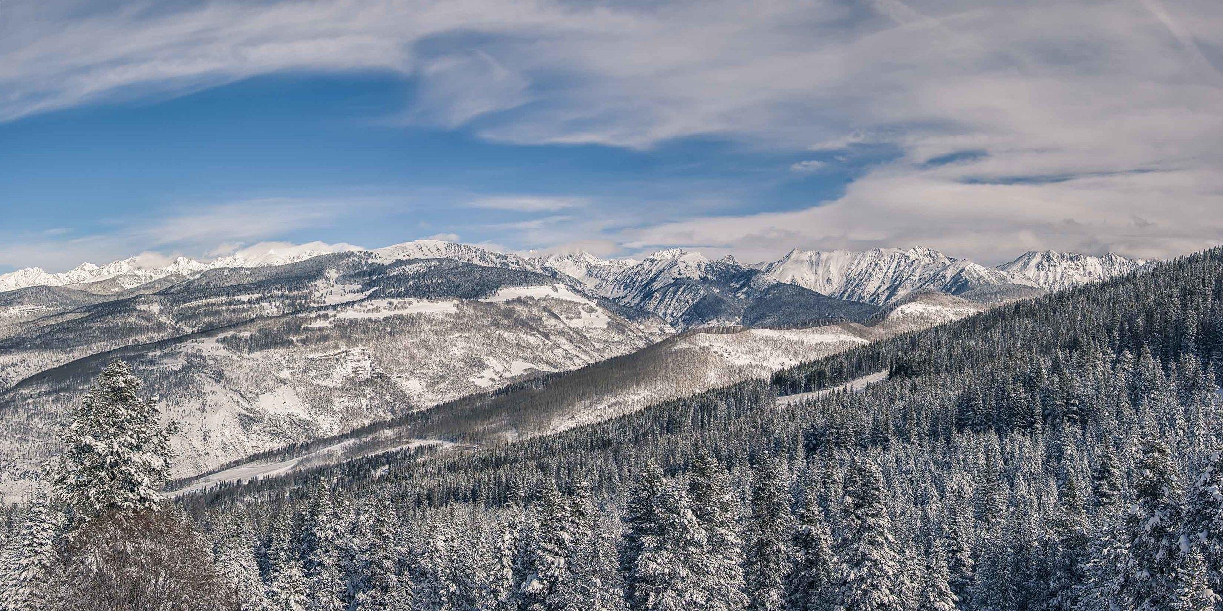 Winter Across the Rockies