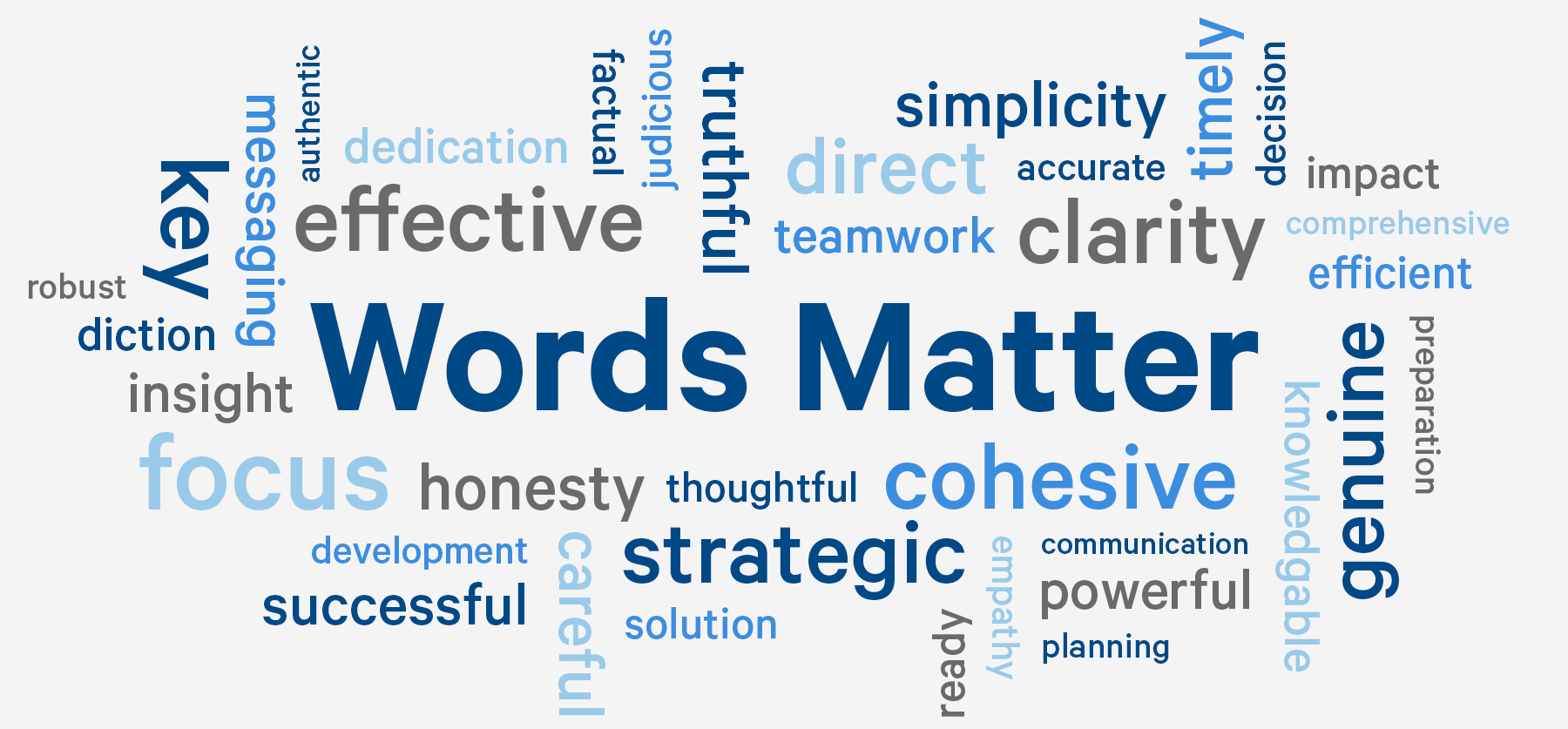 Words Matter: Good Writing is the Essence of Successful Crisis  Communication — Public Communications Inc.
