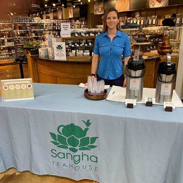 Yo, #chapelhill if you are coming through @southernseason make sure to stop and say hi! . . . #teabar #womenownedbusiness #communityovercompetition #befreetotea #demoday #carrboro #tea