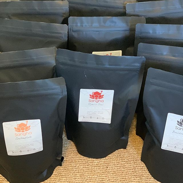 All packed and ready to go!  I love when we put #communityovercompetition and #localsupportinglocal businesses.  Together we rise. @jgfcommunity and @thedurhamhotel your orders are on the way!