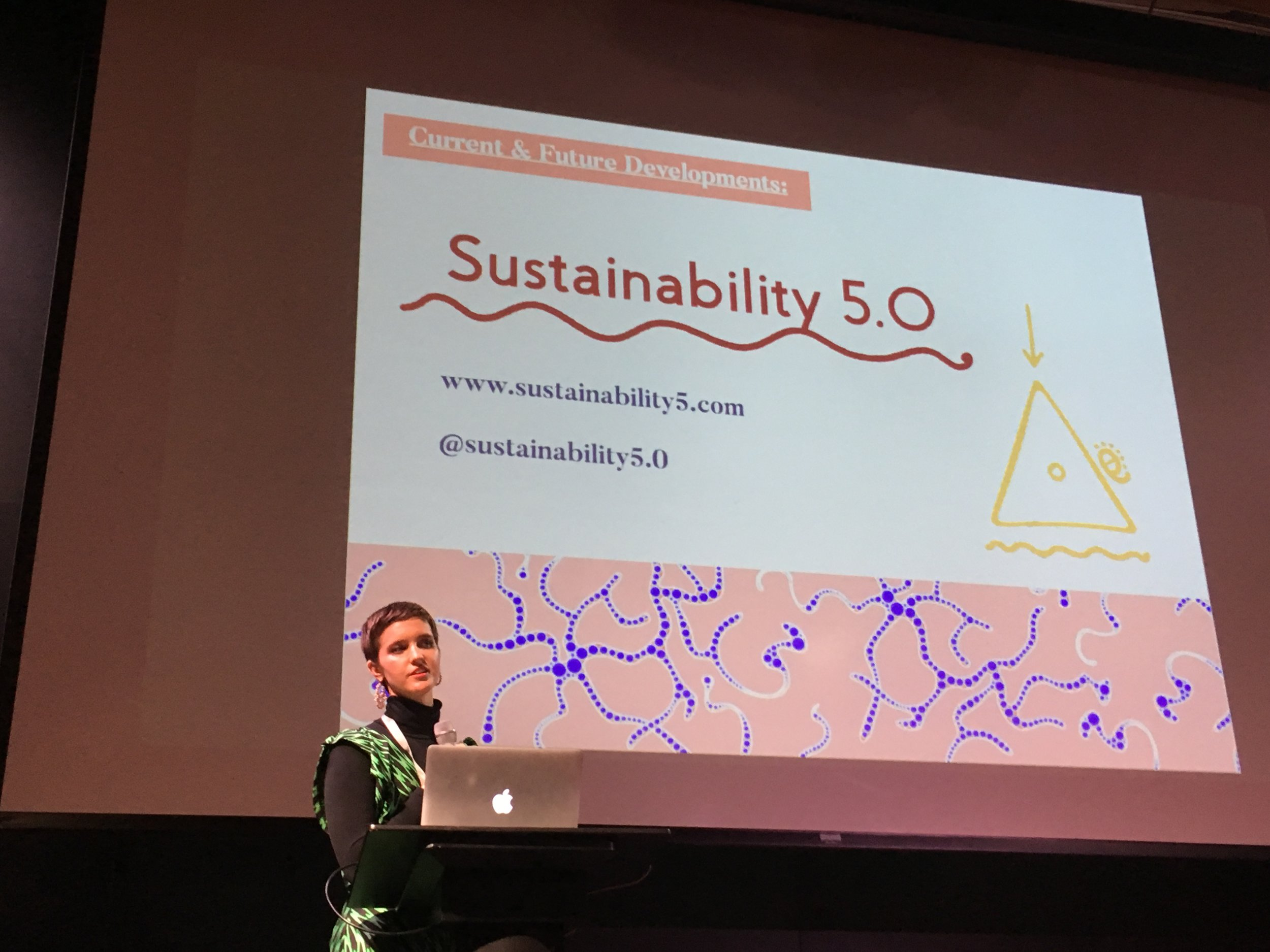 Presenting my paper on 'Fashion & Spirituality' -  'How can spirituality serve as an underlying framework for creating sustainable fashion design futures? '