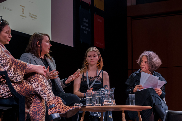 Panel Discussion with Sophie Slater, Claire Bergkamp, Orsola De Castro & Heta Dobrowolski chaired by Sandy Black.