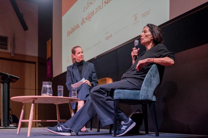 Katharine Hamnett in conversation with Dana Thomas