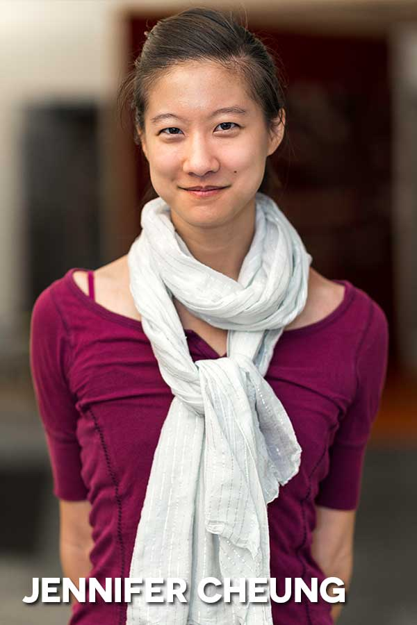 JENNIFER CHEUNG     after moving to Chicago last year, Jennifer has performed in improv and sketch shows at Under the Gun, Second City Training Center, MCL, and Public House Theatre. She has written for performances at SCTC, MCL, and Stage 773, and recently completed the Profiles Theatre Advanced Scene Study class. You can see her currently in  Ten Shocking Ways the World Ended   at SCTC's DeMaat Theatre, and in a Writing 6 revue in Donny's Skybox in May.