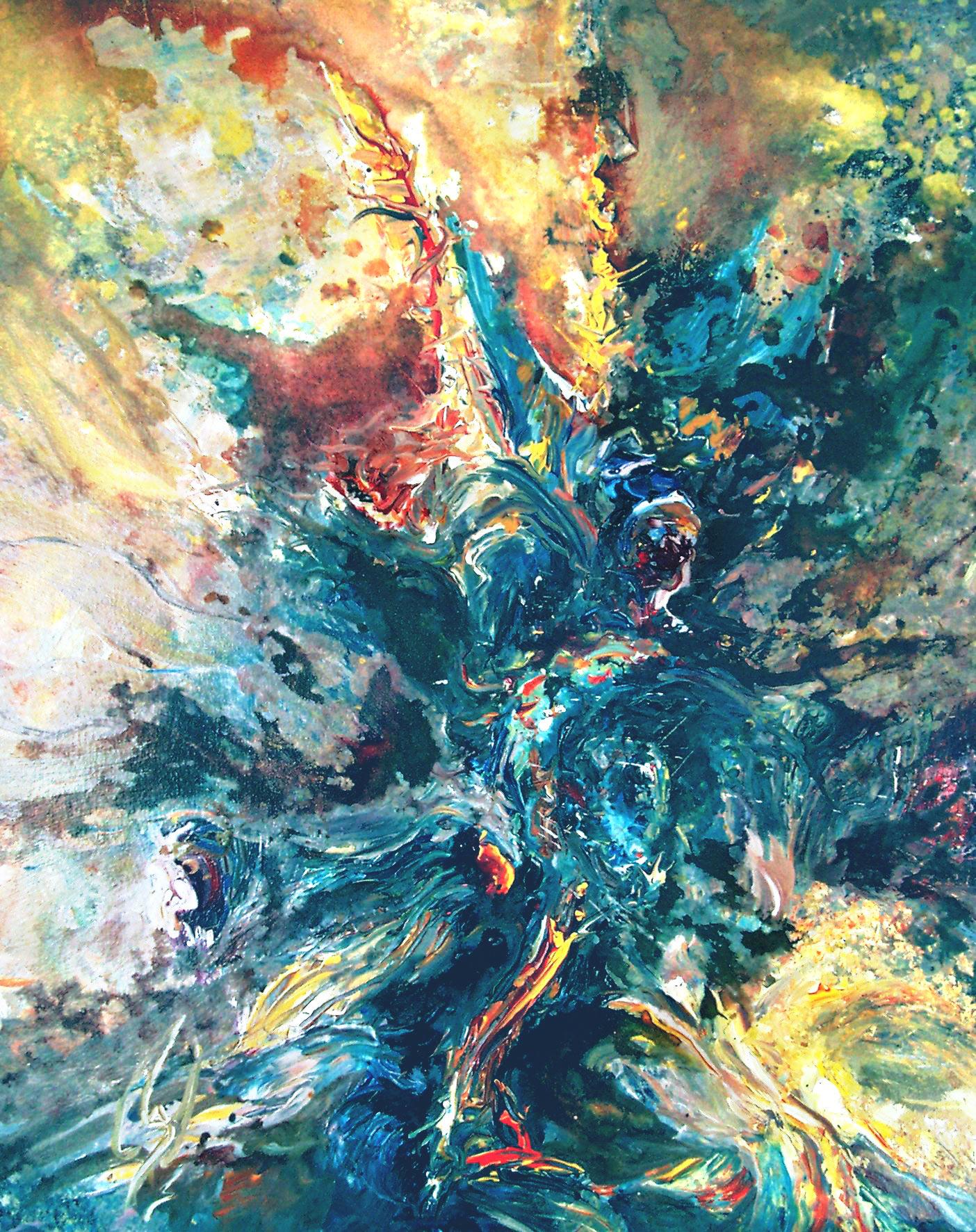 STARFISH - 30 x 24, acrylic on canvas