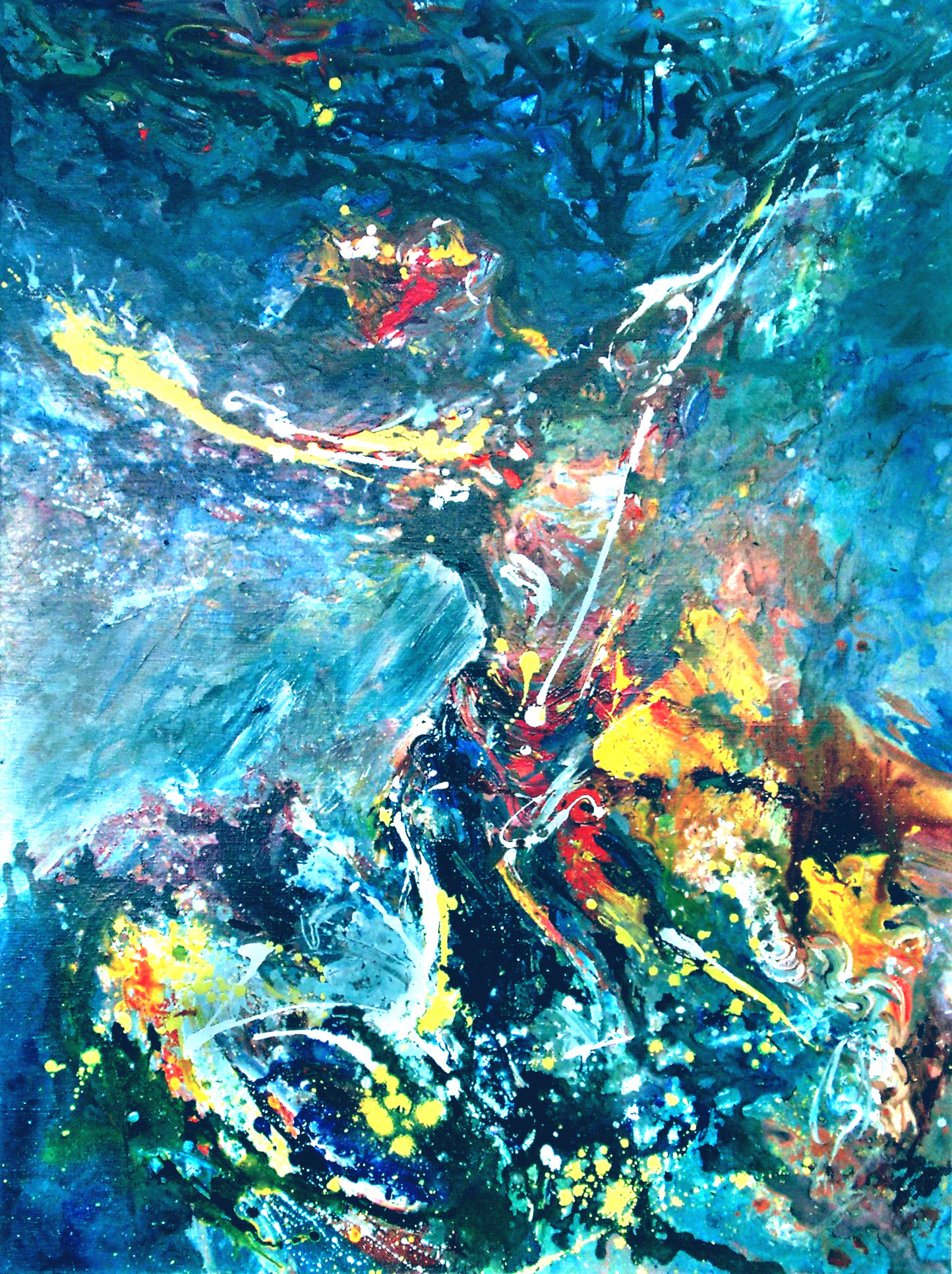 FREEDOM - 48 x 36, acrylic on canvas