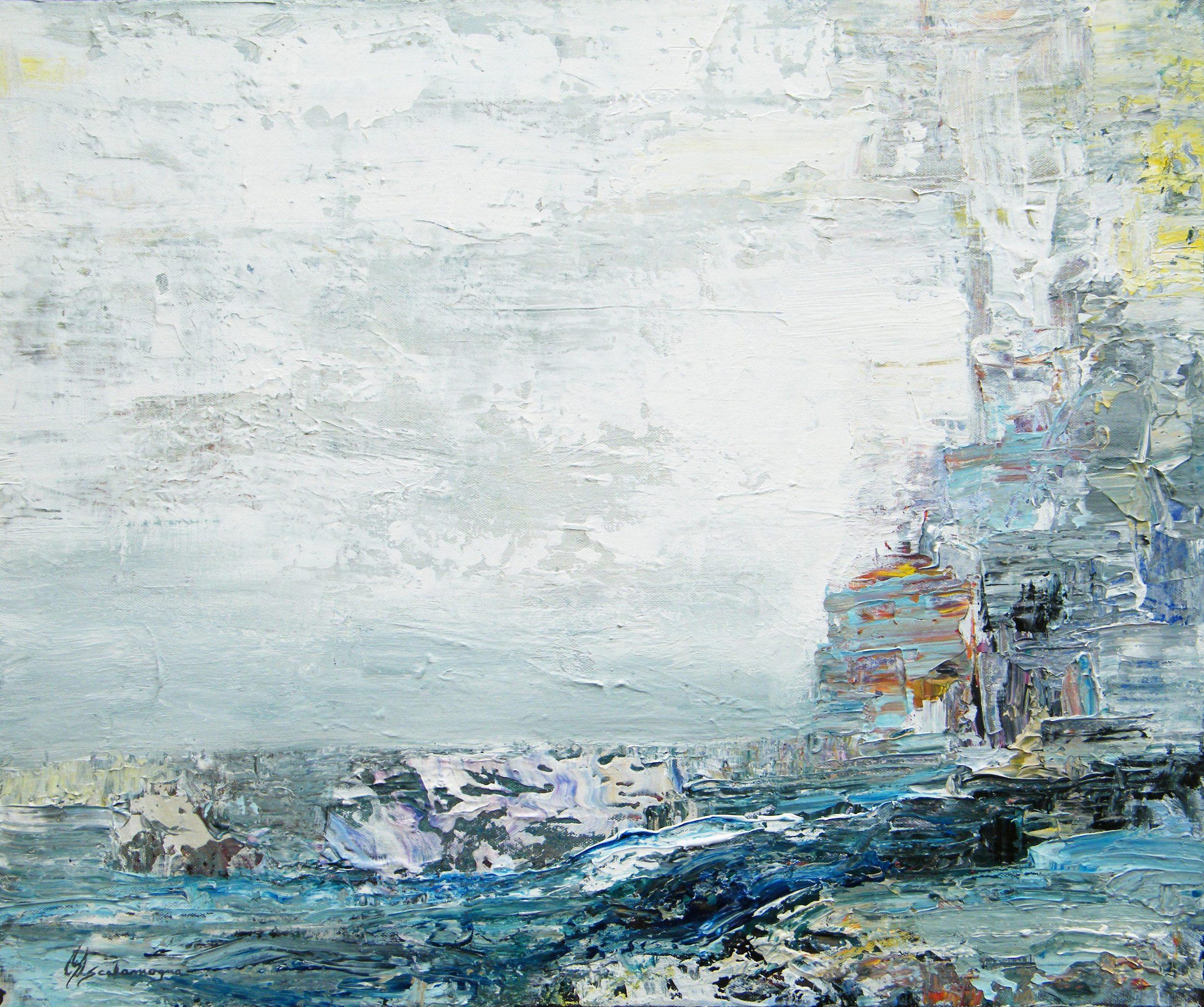 Lighthouse - 20 x 24, Acrylic on Canvas.