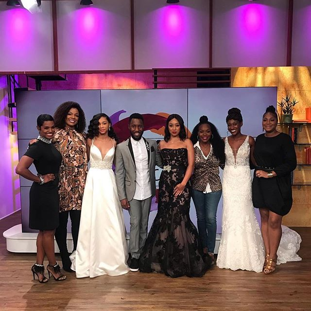 Thank you to our Edge & Priss Luxury Bridal Team @sharriburke @kierabstyles representing and hair styling the beautiful models for the @briankeithproductions Bridal Gown Segment during the live taping of Sister Circle Today!!! @sistercircletv @tvonetv 😍 Hair: @allvirginhair . . WE ARE BOOKING FOR 2020!!!. . www.edgeandpriss.com. . #Repost @briankeithproductions ・・・ Did you catch our Bridal Gown segment on @sistercircletv on @tvonetv with me and @trinabraxton1? Thank you @encoreformalsandbridal @allvirginhair @lamikbeauty @edgeandprissglam @beautyarchitect for Glam. And to my amazingly gorgeous models, I thank you!! #eventtrends #eventplanner #eventplanning #bizbash #eventprofs #events #eventdesign #weddingplanner #wedding #partyplanner #corporateevents #engagement #kidparty #floral #party #photo #marketing #chefs #venues #atlanta #atlantaevents #houston #houstonevents #travelingplanner #travel #eventstyling #eventdecor