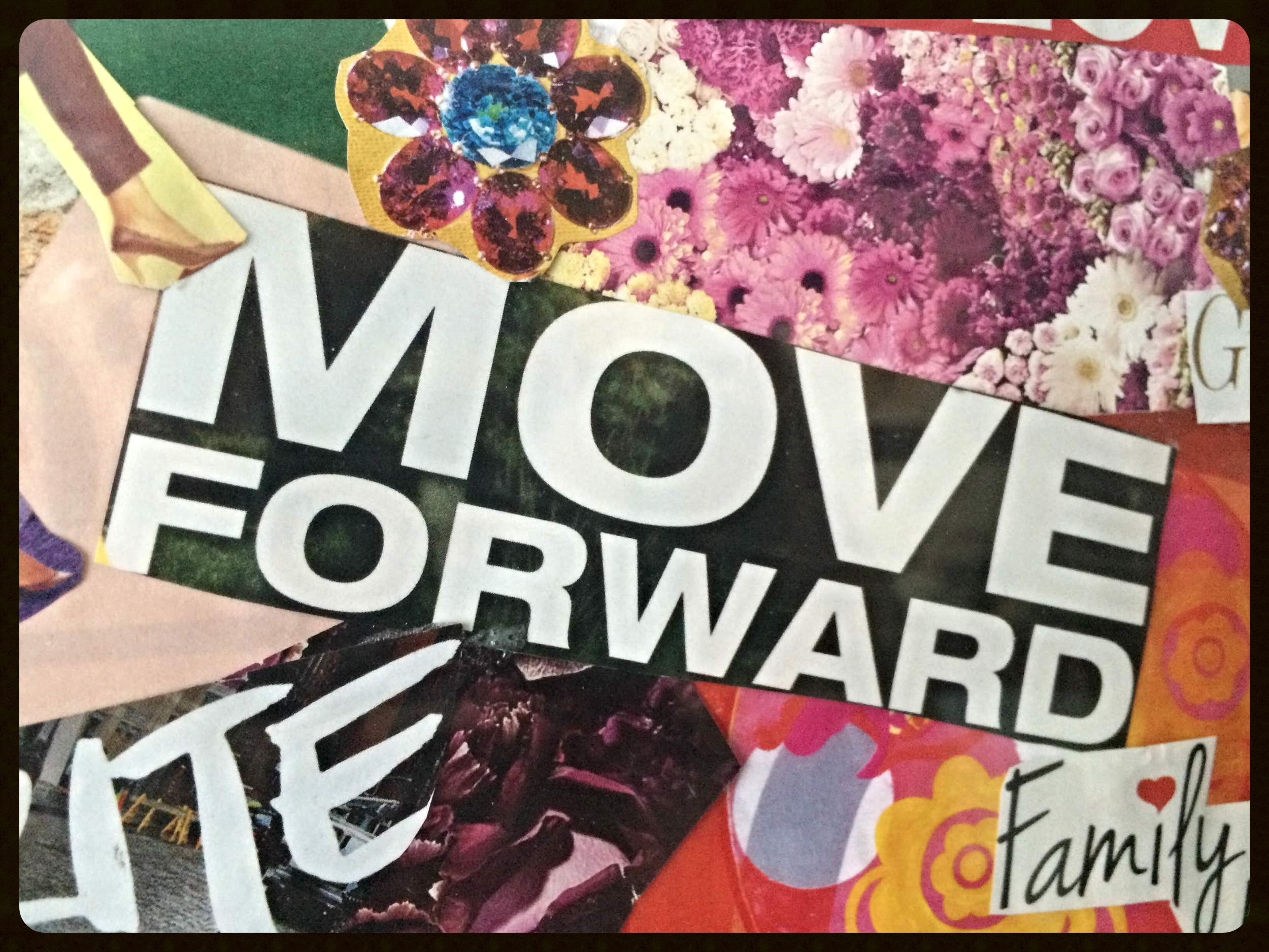 From my 2015 vision board - www.justtev.com