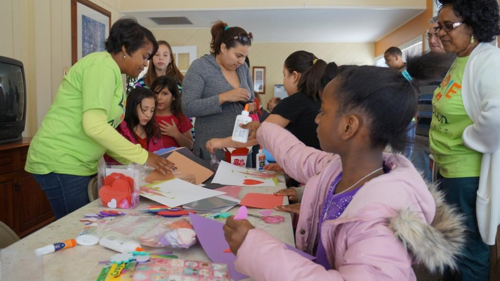 Making Cards - Love in Action Project
