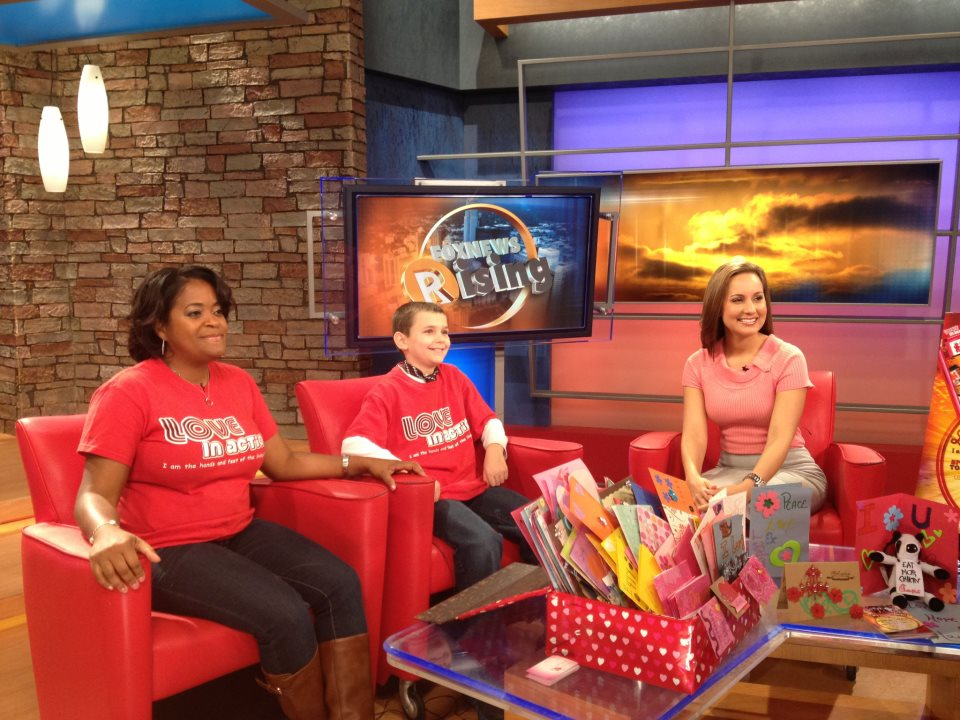 Love in Action Project on Fox News Rising - Charlotte, NC