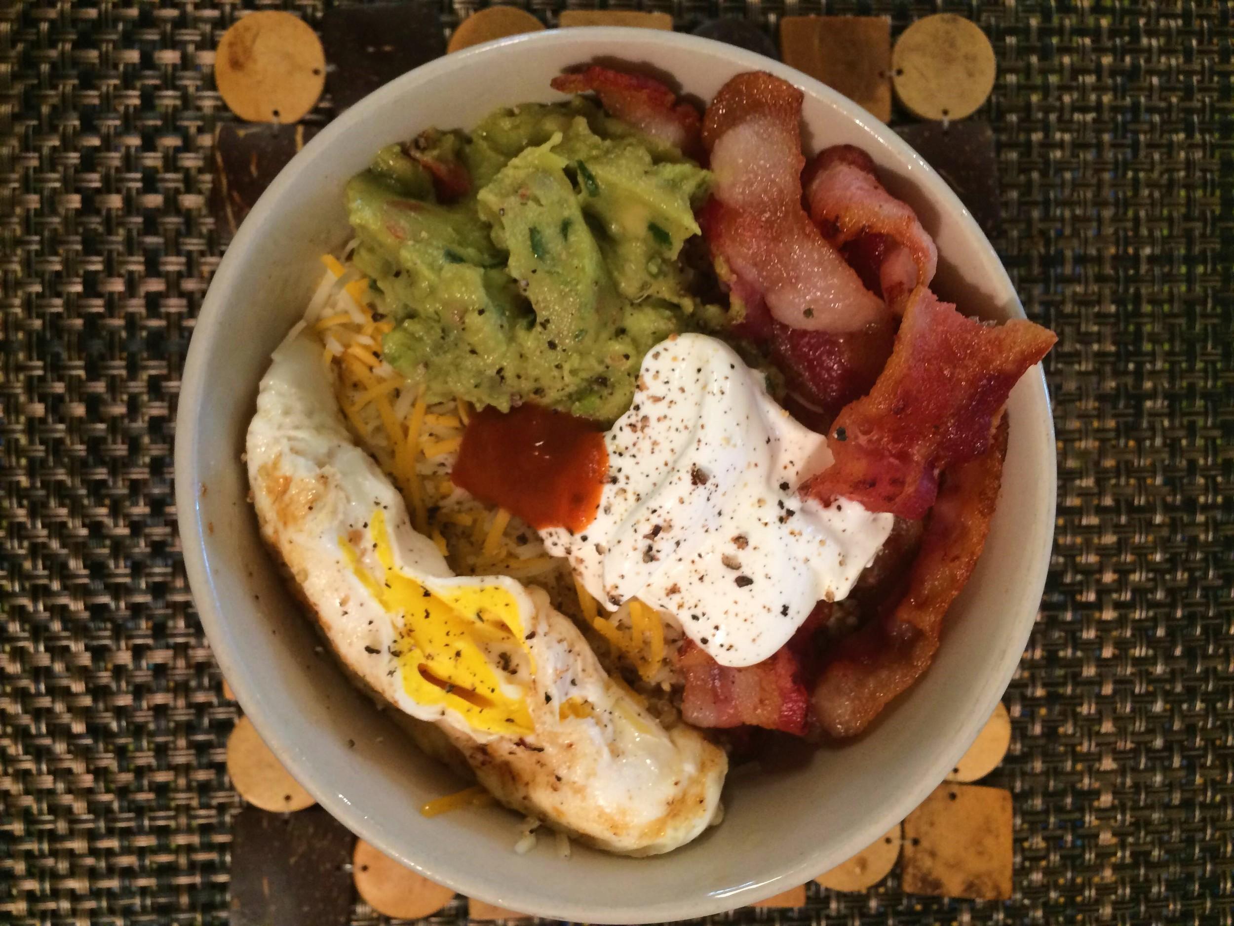 Quinoa Breakfast Bowl 2016 - tev