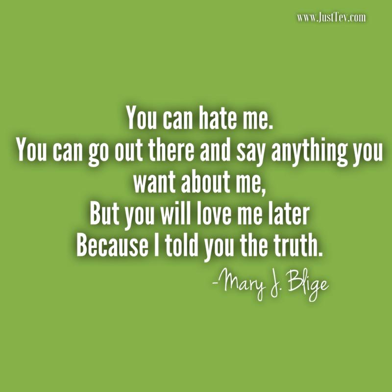 Truth - Mary J. Blige