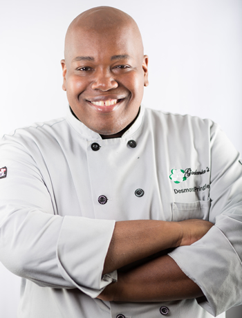 Desmond Pringle - Executive Pastry Chef/Owner, Gardenia's Custom Cakes & Catering