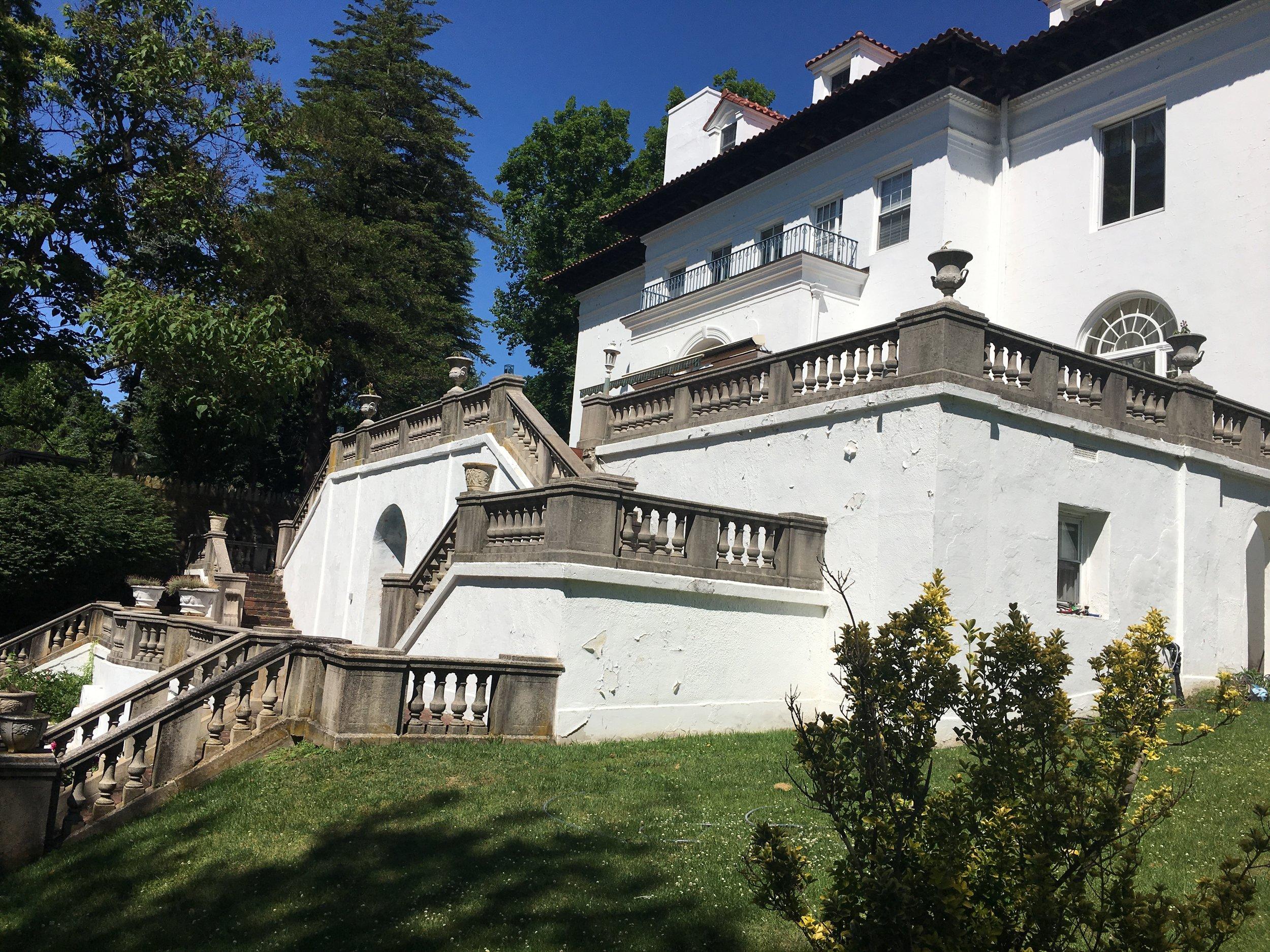Villa Lewaro Rear Terrace - Photo by Tevra F.