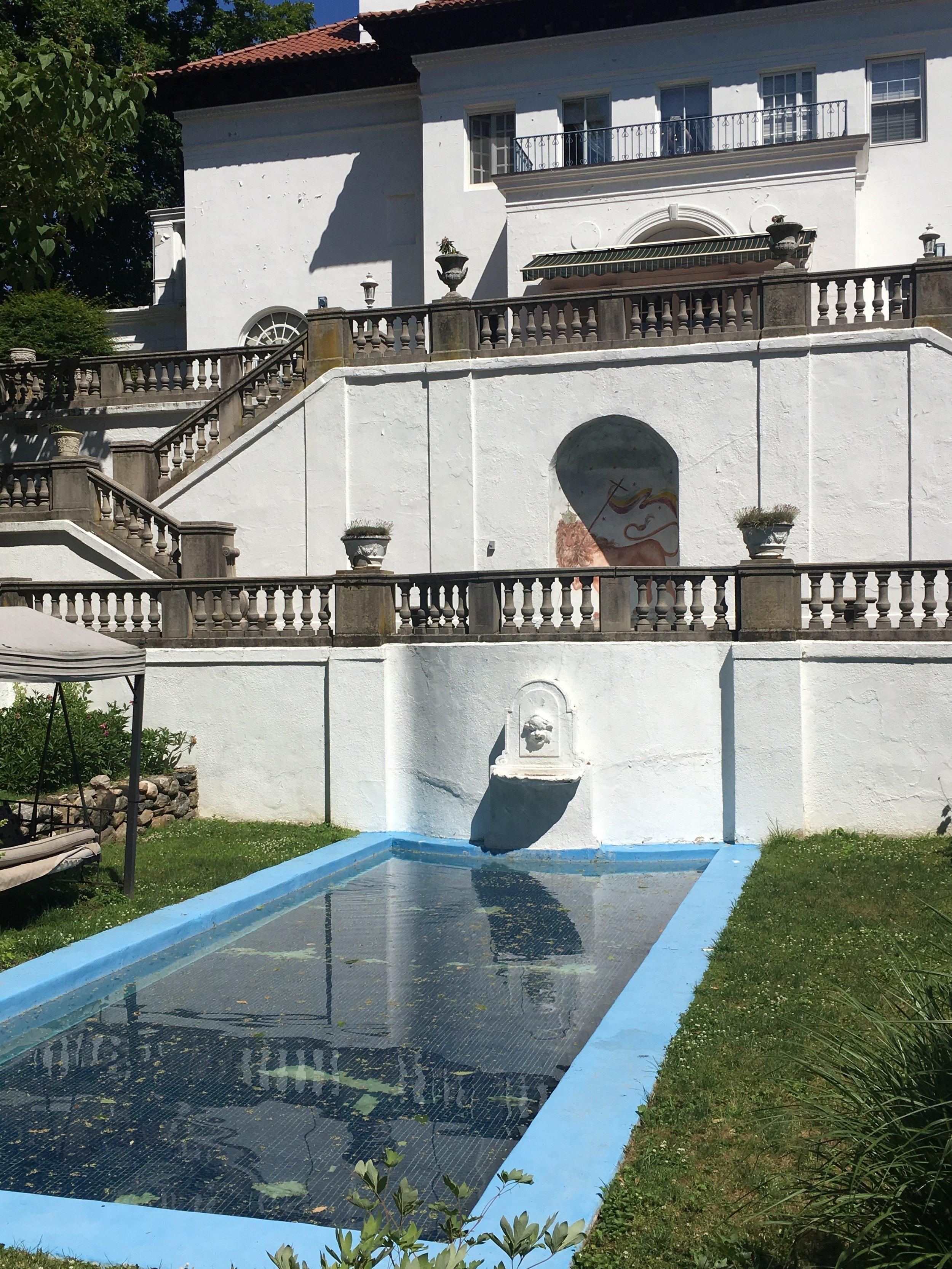 Pool at Villa Lewaro - Photo By Tevra F.